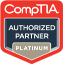 CompTIA Platinum Authorized Partner