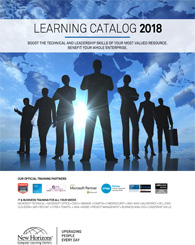 Computer Training Catalog - New Horizons