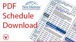 New Horizons Pittsburgh Class Schedule